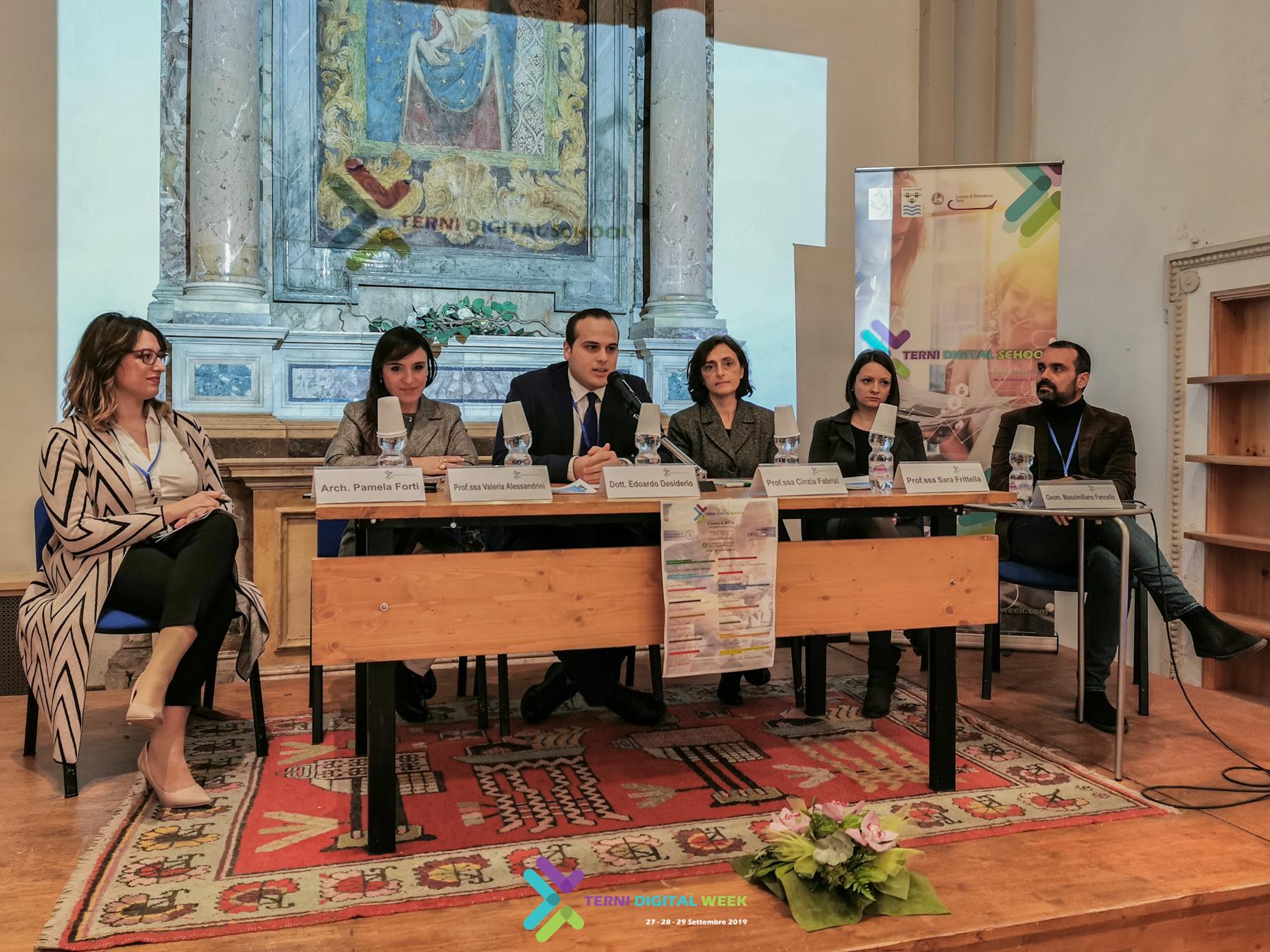 PRESENTATA A TERNI LA PRIMA DIGITAL SCHOOL DELL'UMBRIA
