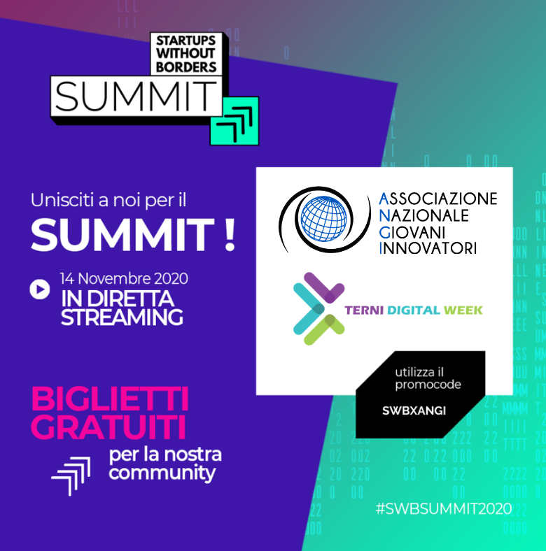 Terni Digital Week con ANGI partner di Startups Without Borders