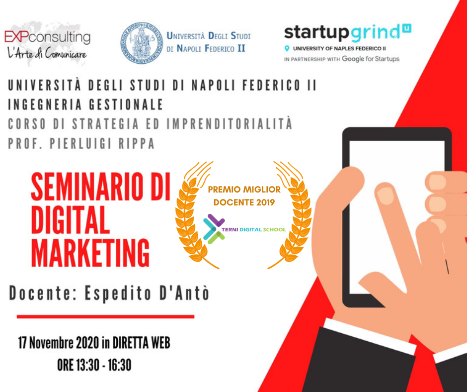 SEMINARIO DI DIGITAL MARKETING